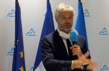 Laurent Wauquiez a annoncé 9 millions de masques en tissu pour les habitants d'Auvergne Rhône-Alpes.