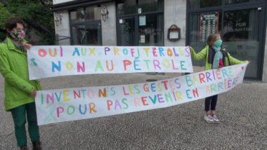 Rassemblement lors du 1er mai quartier Saint-Laurent. © Joël Kermabon - Place Gre'net