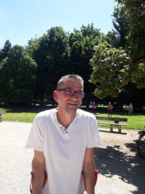 Benoit Waltrou, chef du service espace verts, Grenoble ©Léa Meyer - Place Gre'net