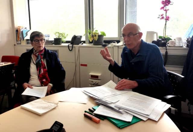 Bernadette Richard-Finot et Guy Tuscher © Florent Mathieu - Place Gre'net
