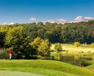 Le golf de Bresson repris par la société Bluegreen. ©Bluegreen
