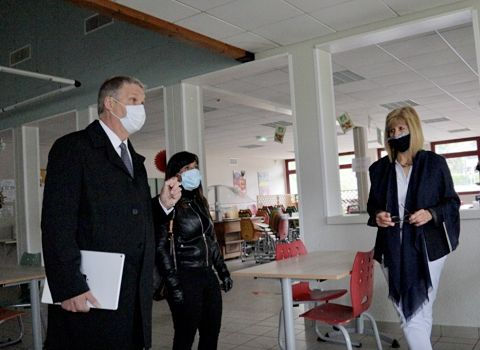 COUV Les collèges du département de l'Isère prêts à rouvrir leurs portes après le confinement DR