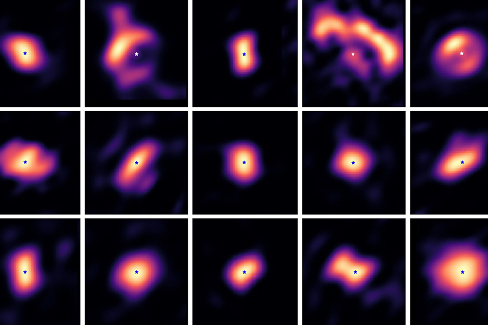 Des photos inédites de disques planétaires révélées par des astronomes grenoblois