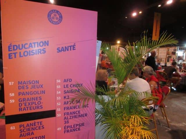 Forum des associations de Grenoble en 2019 © Florent Mathieu - Place Gre'net