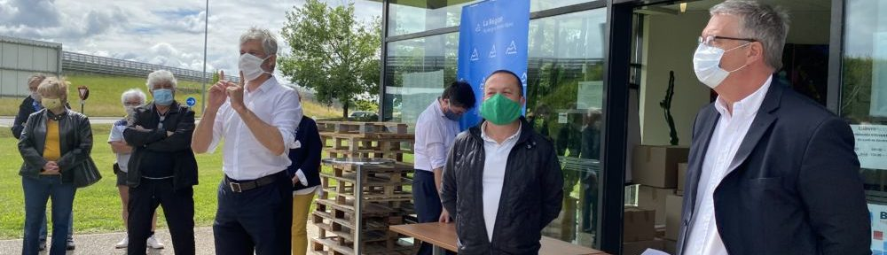 Grenoble propose d'informer sur les masques par SMS