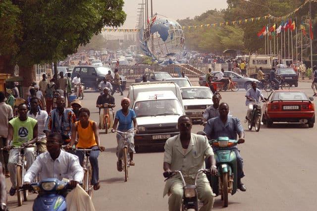 Place des Nations-Unies à Ouagadougou, capitale du Burkina Faso. DR