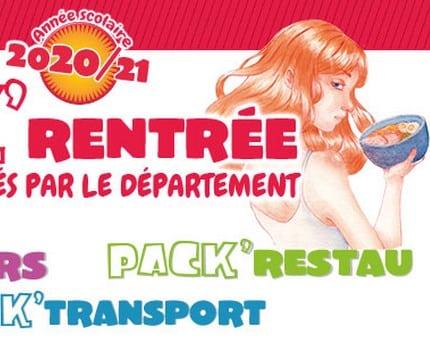Le Département de l'Isère relance les Pack'Rentrée pour les familles de collégiens