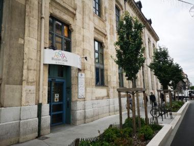 Les locaux de la Missionlocale de Grenoble, boulevard Agutte Sembat. © Joël Kermabon - Place Gre'net