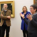 Les commissaires de l'exposition © Laure Gicquel