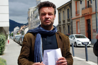 Jean-Philippe Moutarde, porte-parole du Collectif des usagers du GHM. © Anissa Duport-Levanti - Place Gre'net