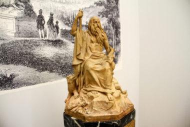 La maquette du Génie des Alpes, une sculpture aujourd'hui disparue © Laure Gicquel