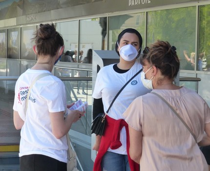 Grenoble déploie des « ambassadeurs des bons gestes » pour accompagner le déconfinement des habitants