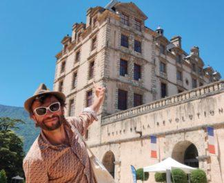 """Paysage>Paysages : château de Vizille Bruno Thircuir, du collectif """"La fabrique des petites utopies"""""""