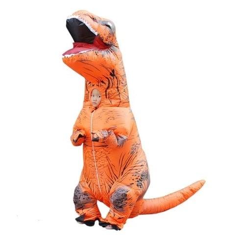 Pas d'effet Amazon pour les costumes de dinosaures durant le confinement © Rex Le Dinosaure