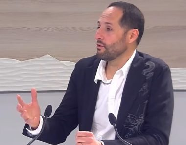 Didier Chapuis, directeur d'Atmo Auvergne Rhône-Alpes (capture d'écran 8-Mont-Blanc : https://www.dailymotion.com/video/x5hysdw)
