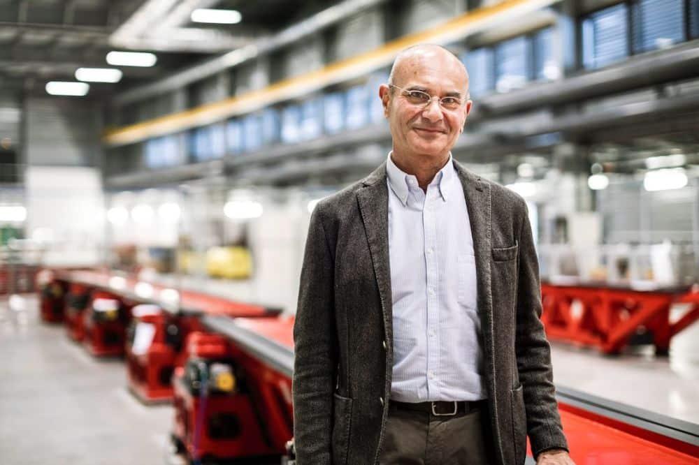 Francesco Sette, directeur général du Synchrotron de Grenoble © ERSF