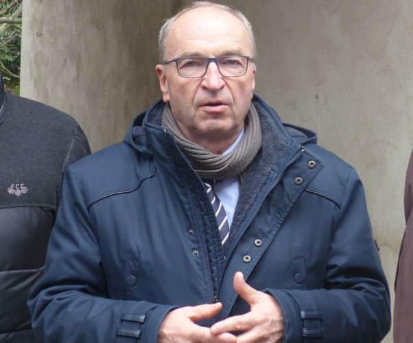 Guy Genet, maire sortant de Vif © Florent Mathieu - Place Gre'net