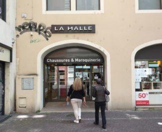 Devanture La Halle Victor Hugo © Léo Aguesse – Place Gre'net