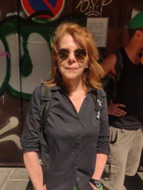 Isabelle Scavarda, membre du Dal 38 © Julien Morceli – Place Gre'net