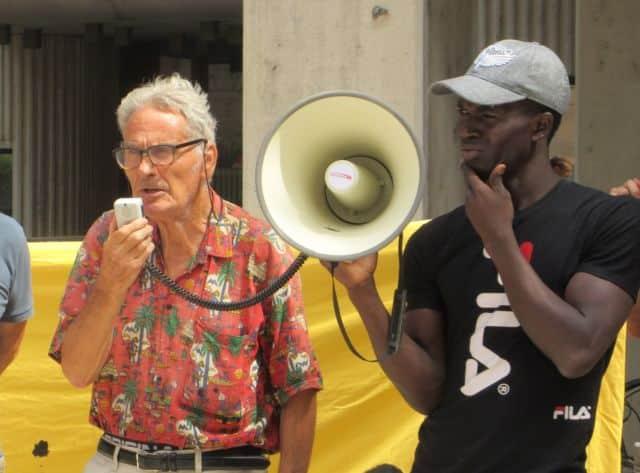 Jo Briant, infatigable militant grenoblois, fêtera ses 84 ans le 3 juillet 2020 © Florent Mathieu - Place Gre'net