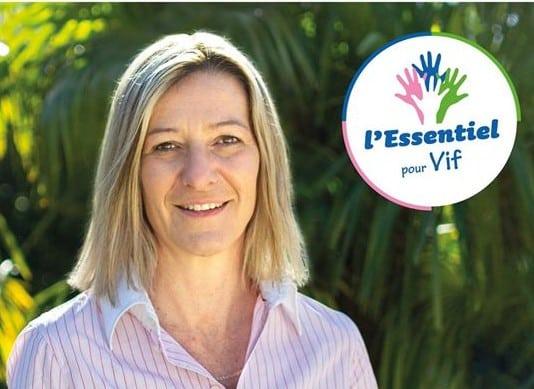 Karine Maurinaux est arrivée en tête du premier tour à Vif. © L'essentiel pour Vif