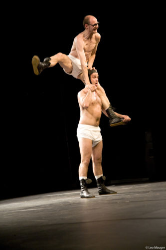 Du cirque en slip kangourou avec Okidok © Léo Mauger