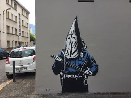 La fresque murale de Goin © Léo Aguesse – Place Gre'net