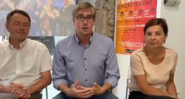 Capture d'écran d'un épisode de la web série Un nouvel air de campagne.