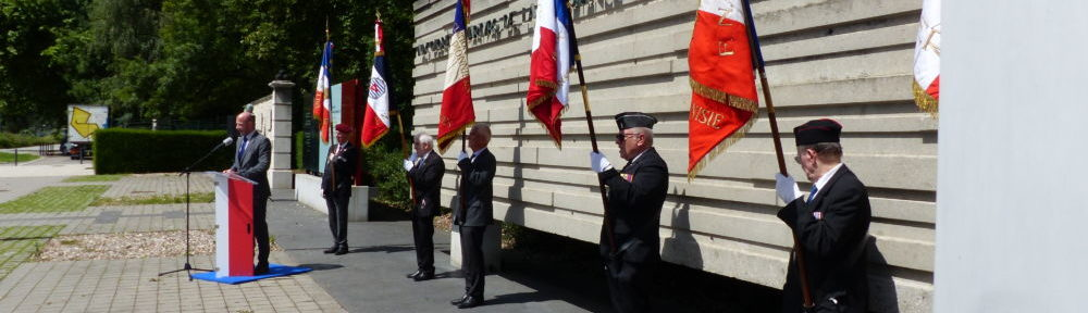 Cérémonie commémorative Appel du 18 juin 1940, jeudi 18 juin 2020 au Monument de la Résistance, place de la Résistance © Léo Aguesse – Place Gre'net