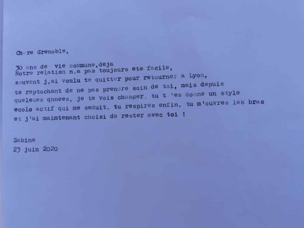 Texte écrit au Fabularium par une grenobloise le 23 juin 2020 © Léo Aguesse – Place Gre'net