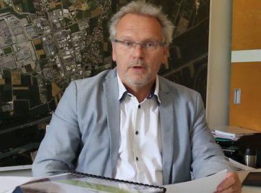 Le maire sortant de Crolles Philippe Lorimier (captured'écran Youtube : https://www.youtube.com/watch?v=cCzrnCPsRFk)