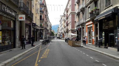 Rue Lakanal piétonne samedi 6 juin©DR