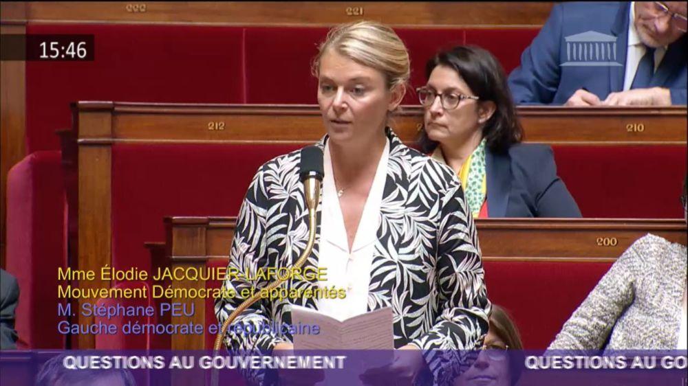 Élodie Jacquier-Laforge © LCP