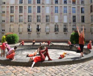 Inventaire dansé de la ville de Pantin · Julie Desprairies · 2014 © Gil Gueu