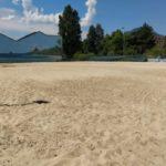 Photographie de la plage de Grenoble à son ouverture