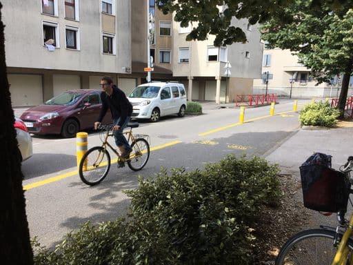 Aménagements TempoVélo à Fontaine © Léo Aguesse – Place Gre'net