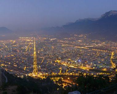 Métropole de Grenoble : élection façon Game of Thrones L'agglomération Grenobloise vue de la Bastille