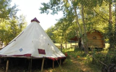 Barroud'âne Aire de bivouac - tente norvegienne 2