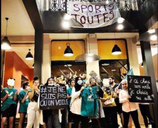 A Grenoble et Lyon, les actions de femmes voilées pour investir les salles de sport et faire modifier les règlements intérieurs se multiplient.