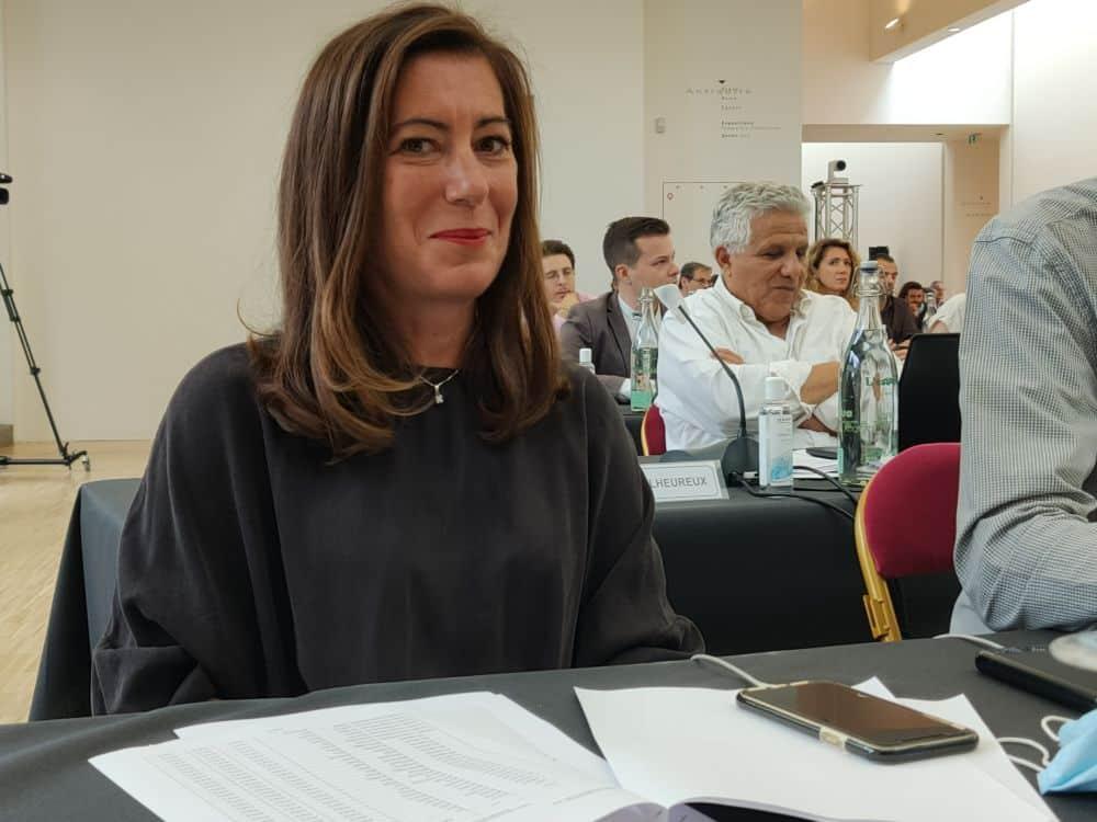 Barbara Schuman, conseillère métropolitaine déléguée à l'Artisanat et au Commerce. Face à la crise, la Métro renforce son fonds d'aide aux investissements © Corentin Bemol - Place Gre'net