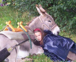 Randonnée en âne. © Barroud'âne en Vercors