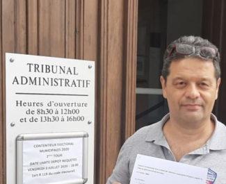 COUV Raoul Urru dépose vendredi 3 juillet 2020 un recours en annulation du résultat des élections municipales à Eybens DR