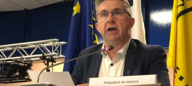 Christophe Ferrari président de la Métropole de Grenoble ©Laure Gicquel