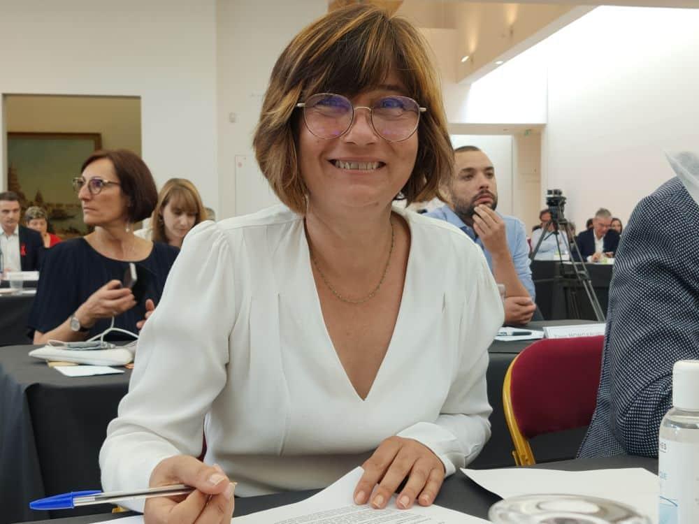 Élisa Martin est la nouvelle président du bailleur social Actis © Corentin Bemol - Place Gre'net