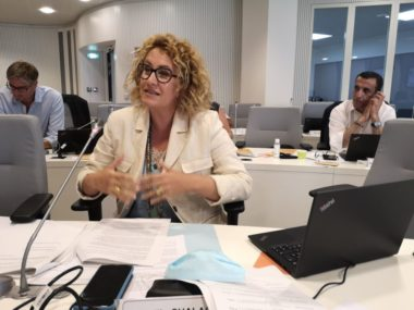 Emilie Chalas, conseil municipal du 25 juillet 2020 © Joël Kermabon - Place Gre'net