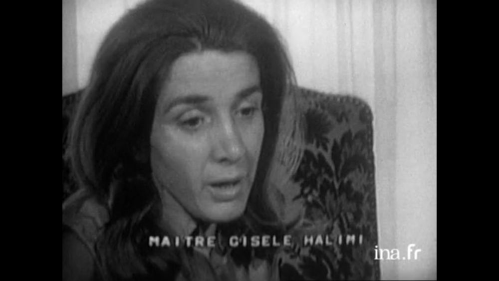 En 1973, Gisèle Halimi est l'avocate d'Annie Ferrey-Martin, médecin grenoblois accusée de pratiquer des avortements clandestins © INA
