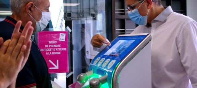 La Sémitag devra verser 175 € par mois à EverCleanHand pour la location de sa borne sans contact. © Anissa Duport-Levanti - Place Gre'net