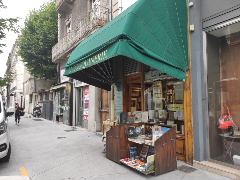 La Bouquinerie, rue Aggute-Sembat à Grenoble © Florent Mathieu - Place Gre'net