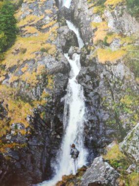 La cascade de l'Oursière à l'approche de lHiver