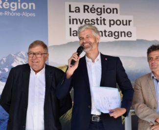 Laurent Wauquiez débloque 2.8 millions d'euros pour les stations de ski de la région